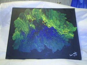 M4034S-4211Original Abstract Acrylic