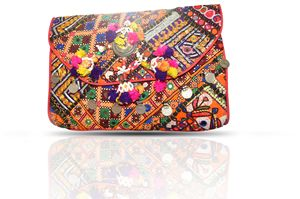 Beautiful Vintage Banjara clutch bag