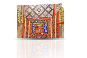 Beautiful Vintage Banjara clutch