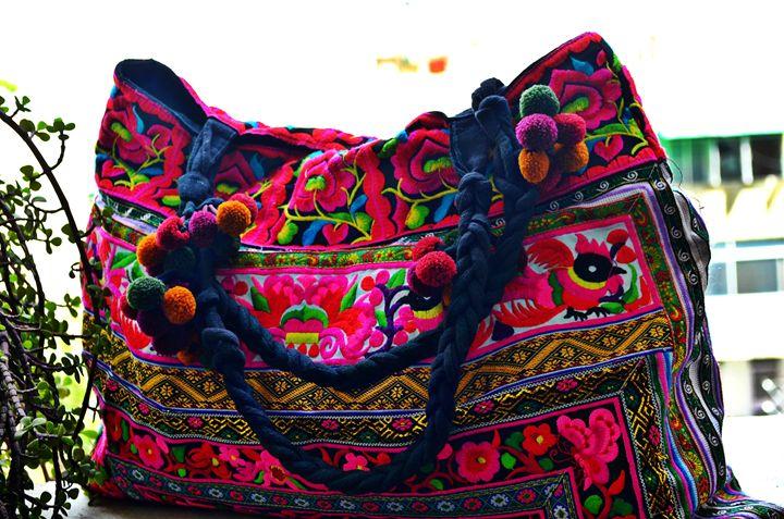 Vintage banjara bag boho gypsy - deartisans