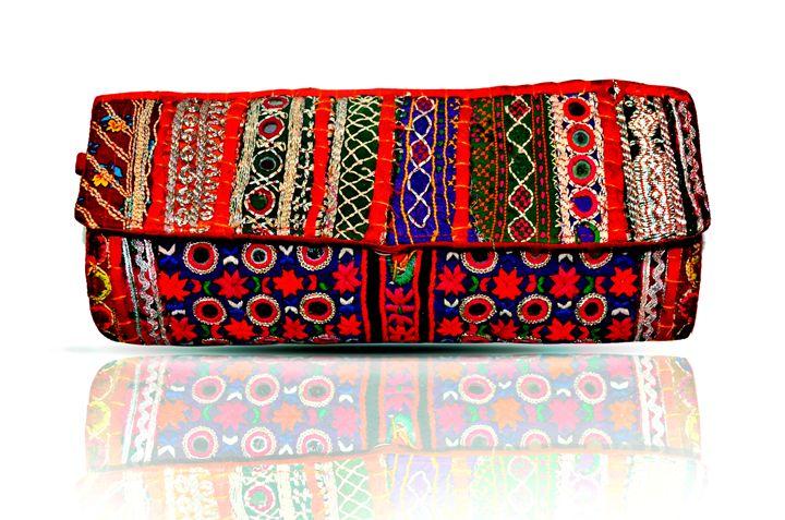 Banjara gypsy dazzling clutch bag - deartisans