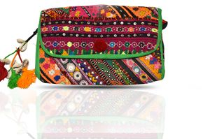 Beautifull gypsy dazzling clutch bag