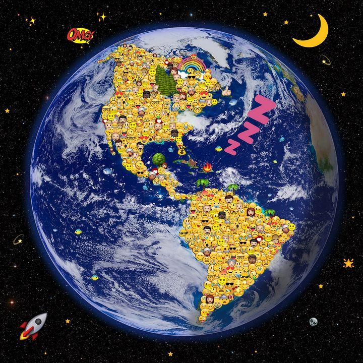 Ground-based view of the sky around - Emily Vafias