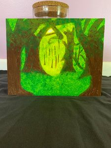SOLD - Green Paradise