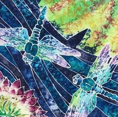 Summer Dragonflies - LKMArtist