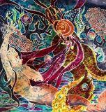 Silk Painting with Batik