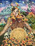 Original Silk Painting