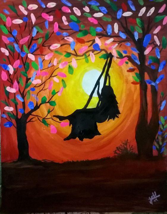 swing - firebird paintings