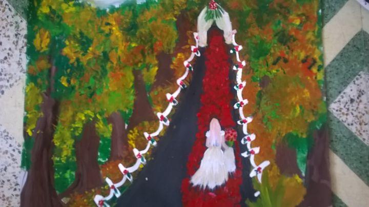 Bride - firebird paintings