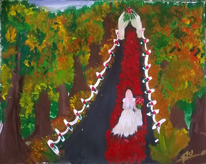 forest bride - firebird paintings