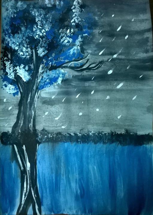 raining - firebird paintings