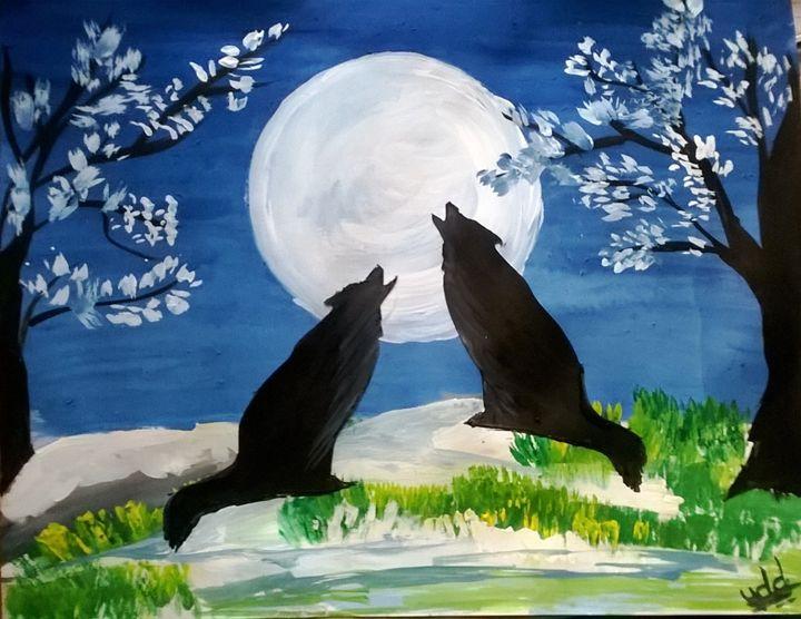 moonlight - firebird paintings