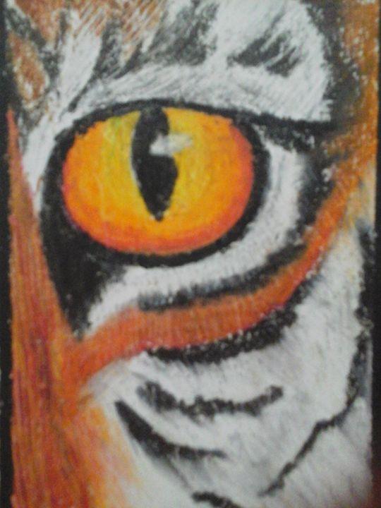 tiger eye - firebird paintings