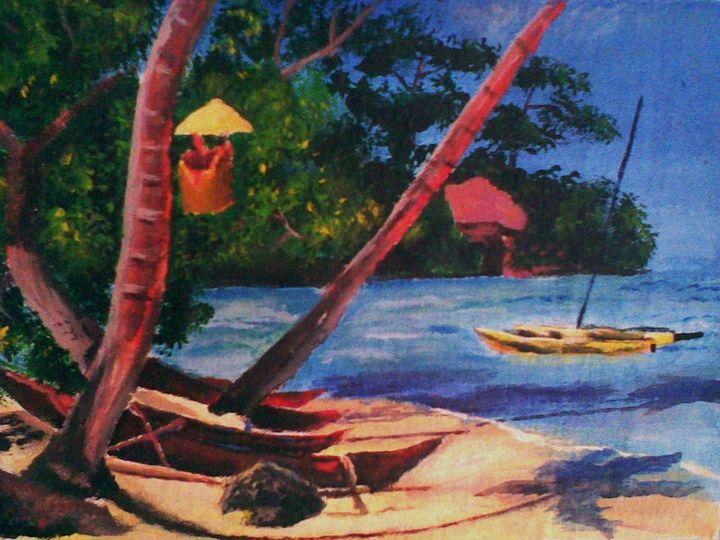 Peace  on the Beach - Azariah Clarke