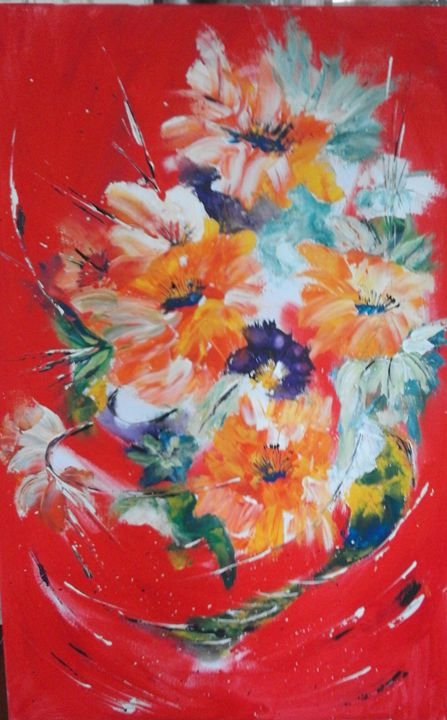 Explosion florale - Odalix