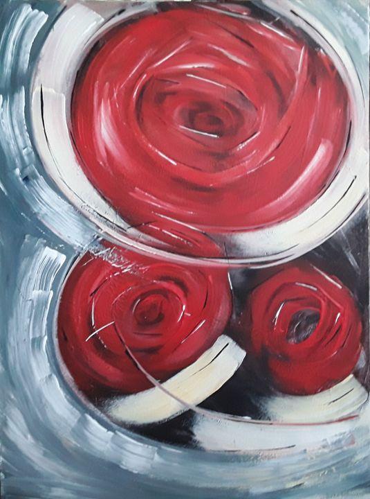 Tourbillon de roses - Odalix