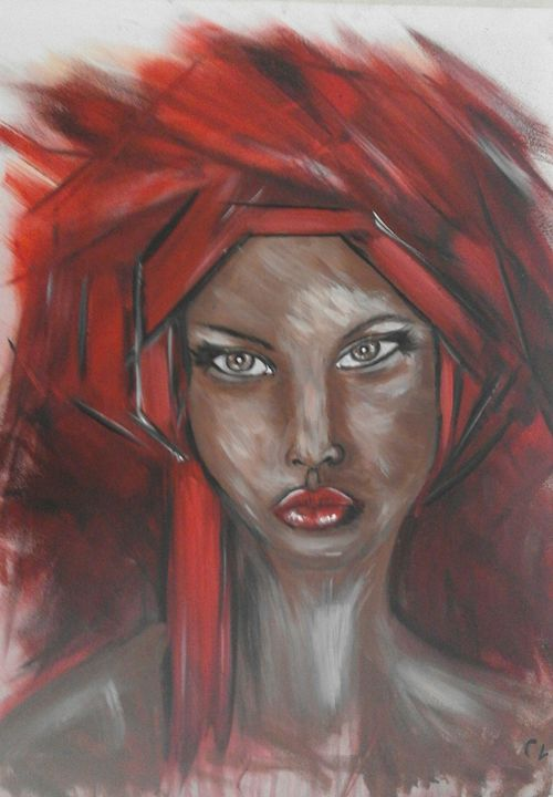 Femme au turban - Odalix