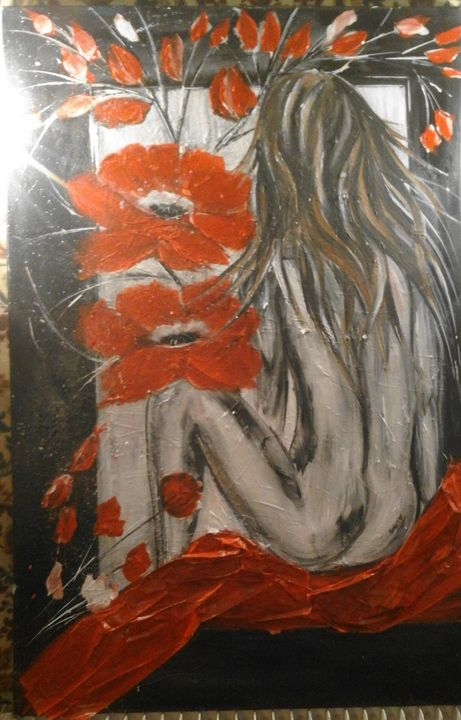 En rouge et noir - Odalix