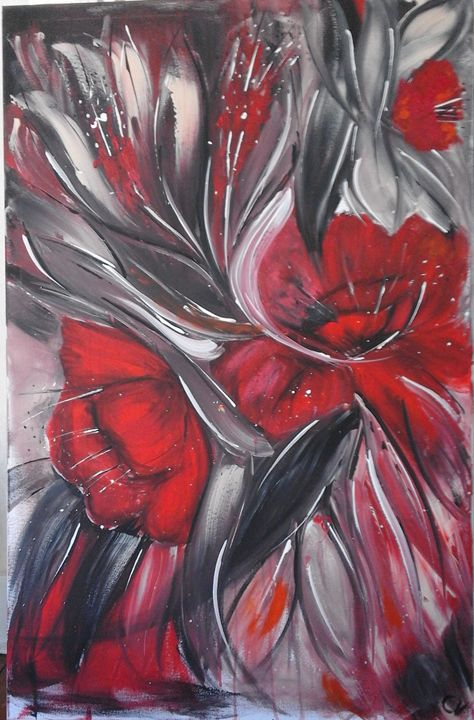 Tableau floral - Odalix