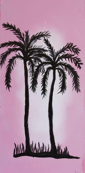 Pink palms - toothteri