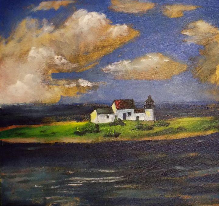 Lighthouse fantasy - Tara Stephanos Originals