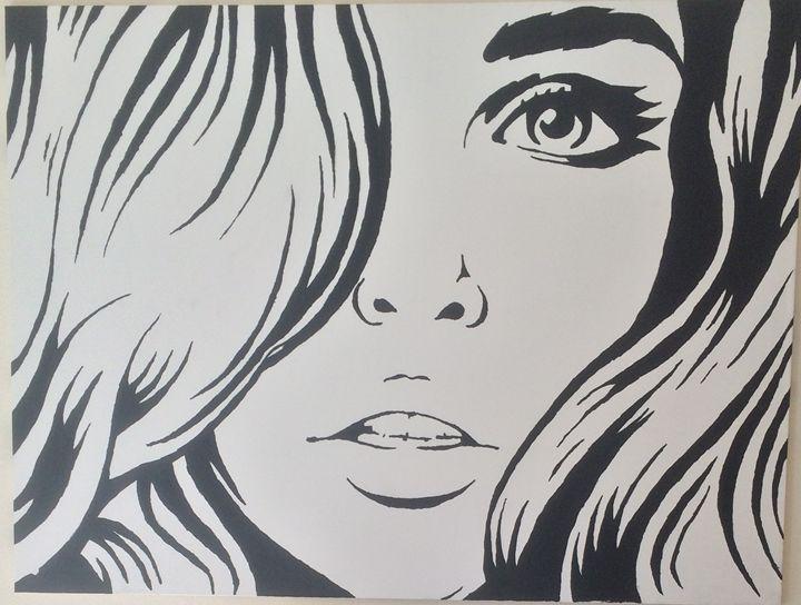 BEAUTIFUL GIRL $240 36x48 - Acrylic Portfolio