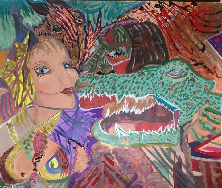 [Shapeshifter's Lady Kiss] - Actor Sparrowhawk Art
