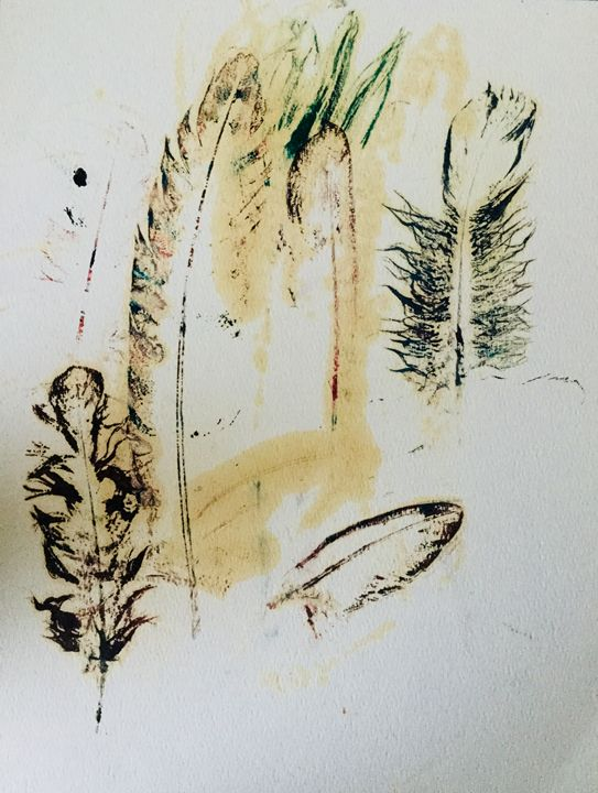 Feathery spirits by Sparrowhawk - Actor Sparrowhawk Art
