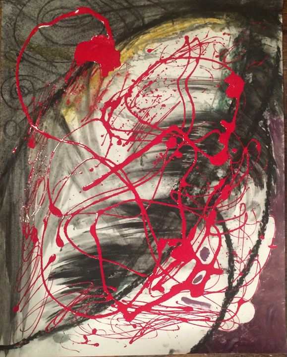 Sparrowhawk untitled abstract - Actor Sparrowhawk Art
