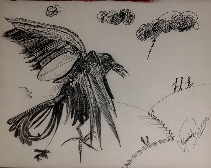Kak-æ'-ru by Sparrowhawk - Actor Sparrowhawk Art