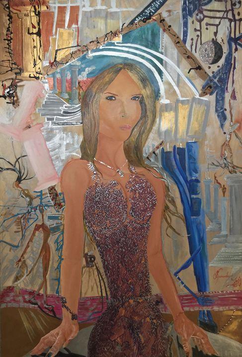 Fashion First: Melania - Actor Sparrowhawk Art