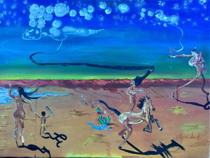 Pomumkwe by Sparrowhawk - Actor Sparrowhawk Art