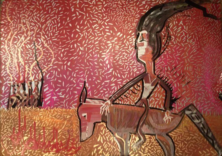 Coyote by Sparrowhawk - Actor Sparrowhawk Art