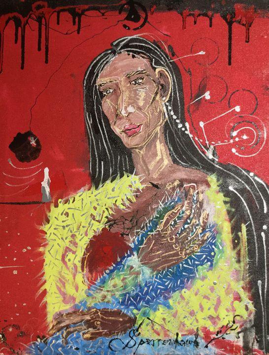 Ancestral Icon: - Actor Sparrowhawk Art
