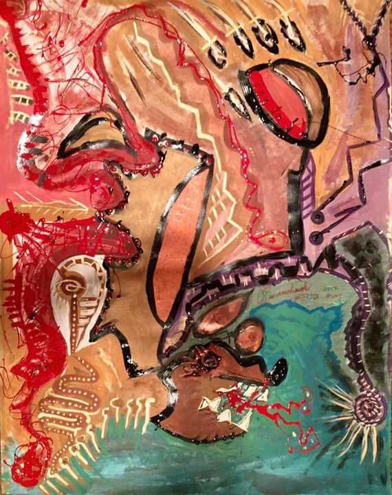 Sparrowhawk 2018 #004 (Bear Clan) - Actor Sparrowhawk Art