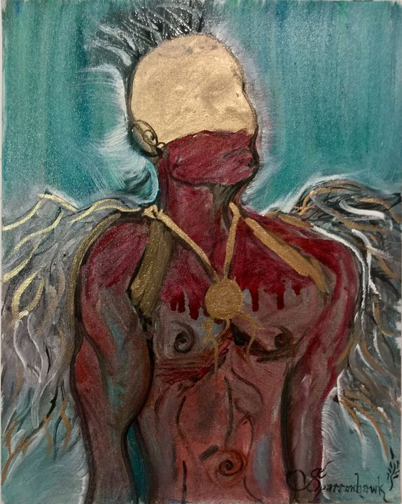 Opechancanough - Actor Sparrowhawk Art