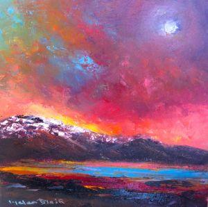 Moonlight Mountains - Helen Blair