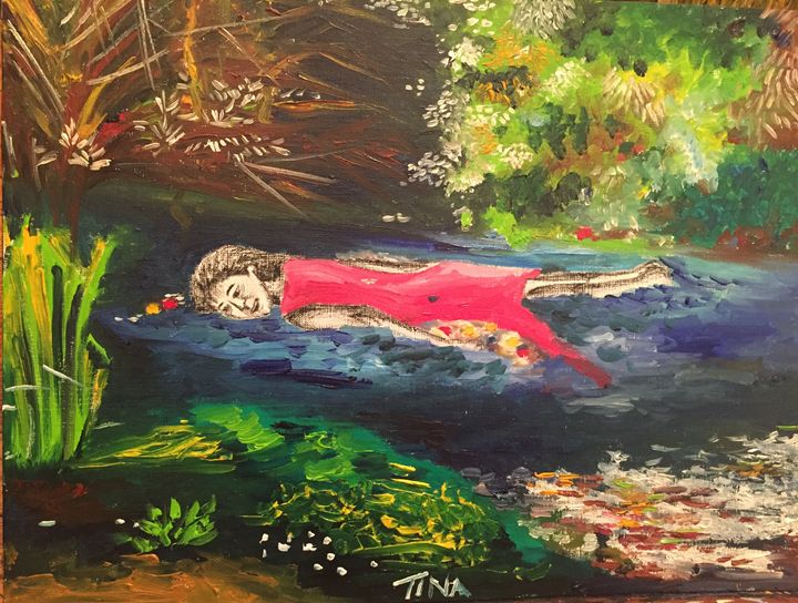 Millais' Ophelia trapped in a poem - Painter's Corner