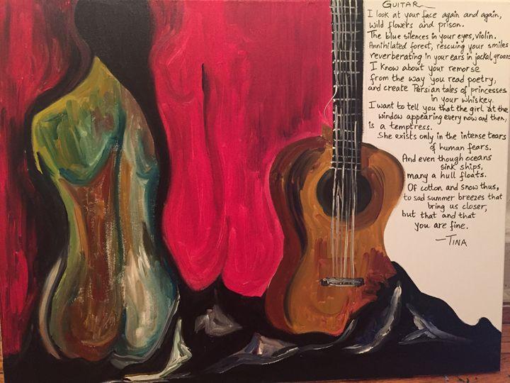 Guitar - Painter's Corner