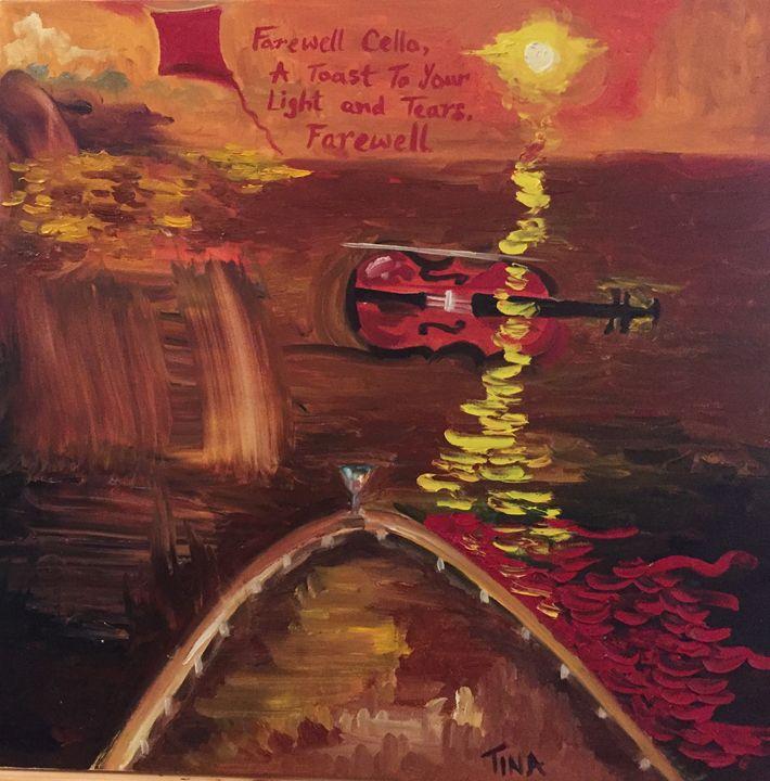 Ode to cello - Painter's Corner