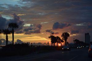 Florida Low Sunset