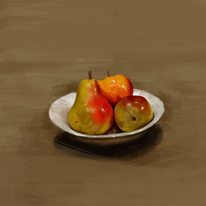 3 Fruits - sultana's art