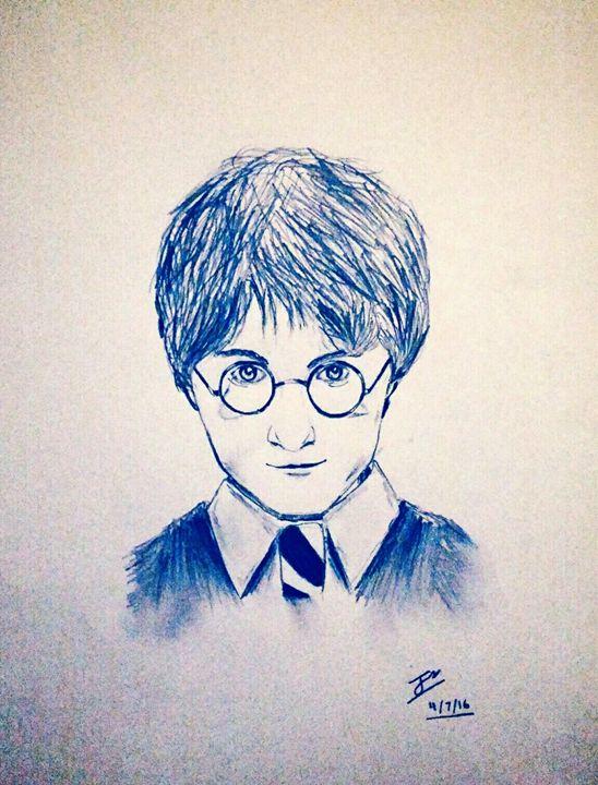 Harry Potter drawing - Sajjan's hopefully not so mediocre art