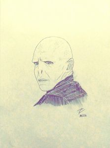 Voldemort drawing