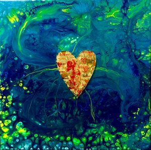 One Heart - Janets Art