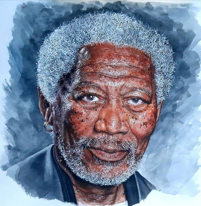 Watercolor portrait - ArtmartLK