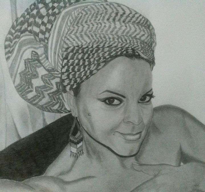 Pencil portrait - My Pencil Art