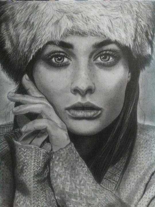 Realistic portrait - My Pencil Art