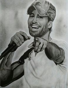 Portrait of Enrique Iglesias