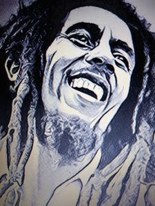 Bob Marley - Celebrity Art work